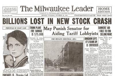 Stock Market Crash of 1929 Causes, Effects and Timeline
