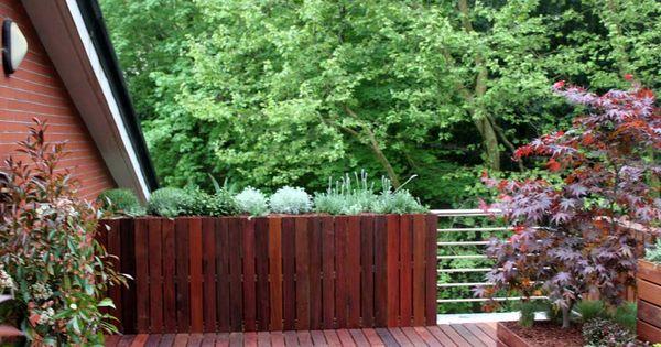 Dise o de jardin en atico en san sebasti n jardines la - Jardines en aticos ...