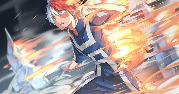 Download Wallpapers Shouto Todoroki 4k Manga My Hero Academia Boku No Hero Academia Besthqwallpapers Com Hero Wallpaper Hero Anime