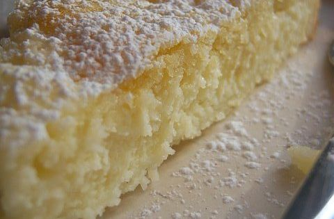 Lemony cream butter cake...now this is MY kind of dessert! It reminds
