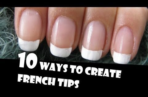 10 WAYS TO CREATE FRENCH TIPS MANICURES | GIVEAWAY WINNERS | HOW
