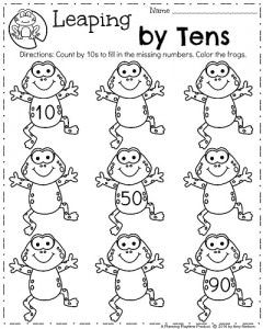 Spring Kindergarten Worksheets With Images Spring Worksheets
