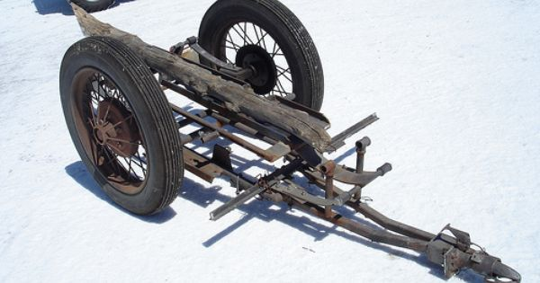 Is It The Real Cycle Trailer With Spare Log Tire From Burt Munro