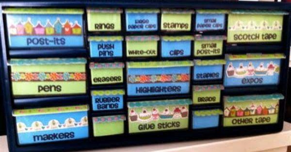 Teacher's tool box... so clever!! I love it! organization classroom ideas