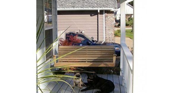 Muebles del porche, Porches and Columpio de veranda on Pinterest