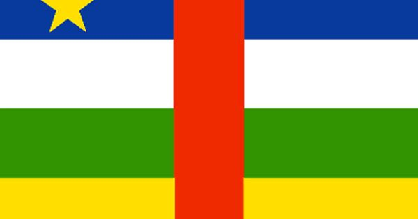 Central African Republic Flag And Description Central African Flags Of The World Republic Flag