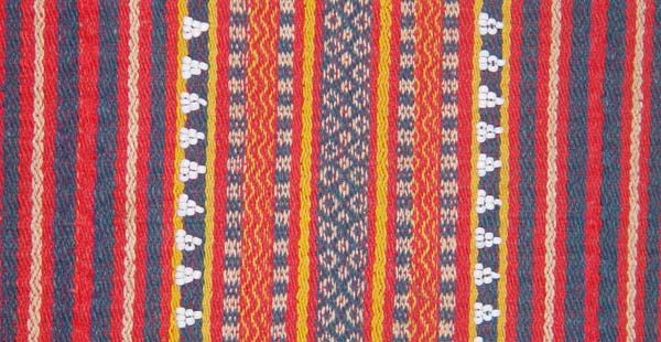 Gaddang Woven Textile From The Highlands Of Northern Luzon
