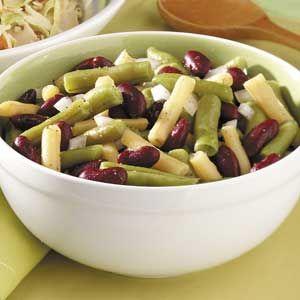 Three Bean Salad For 3 Recipe Three Bean Salad Bean Salad Bean Salad Recipes