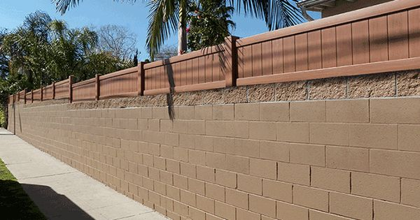 Add To The Height Privacy Security And Appearance Of Your Existing Block Wall Or Privacy Fence Landscaping Landscaping Retaining Walls Fence Height Extension