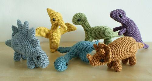 20+ Toy Dinosaur Crochet Pattern – Pattern Giveaway! - A More ... | 267x500