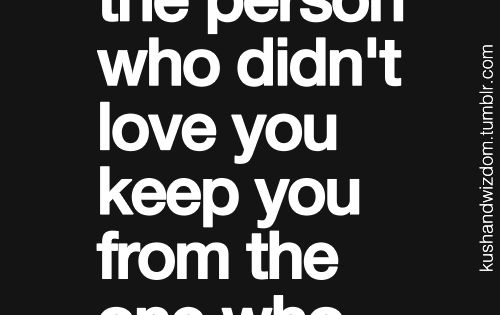 So true. Why would you stay with someone who doesn't love you