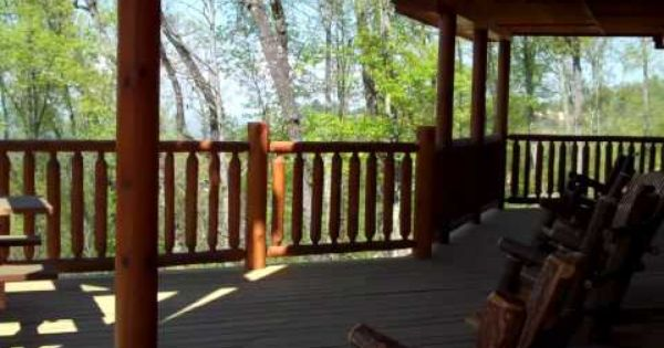 Smokys Tower Is A 5 Bedroom 4 Bath 3 Story Cabin That Sleeps 14 When You Walk Up On The Main Level Deck To Enter This Cabin Luxury Cabin Cabin Outdoor Decor