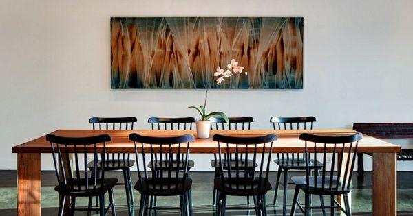 Inspirational Wie sieht das moderne Esszimmer aus esszimmer einrichten modern minimalistisch esstisch holzeinrichtung wanddeko Pinterest Modern