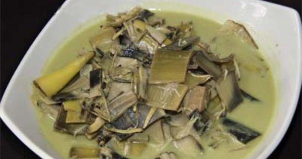 Resep Makanan Indonesia Resep Gulai Jantung Pisang Resep Masakan Indonesia Gulai Makanan Indonesia