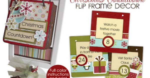 Two DIY Christmas Countdown Advent Calendars advent calendars