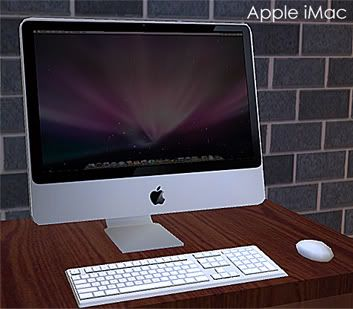 Mod The Sims Apple iMac 2 New Computers Sims Sims 4 cc