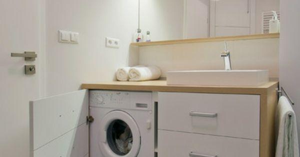 renovierung ihres badezimmers idee waschmaschine bad und waschk che pinterest renovierung. Black Bedroom Furniture Sets. Home Design Ideas