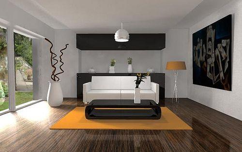 Salas modernas salas minimalistas muebles elegantes fotos for Foto casa minimalista