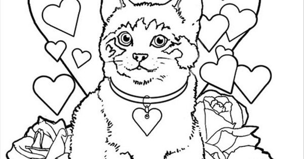 free coloring pages cat valentine - photo#9