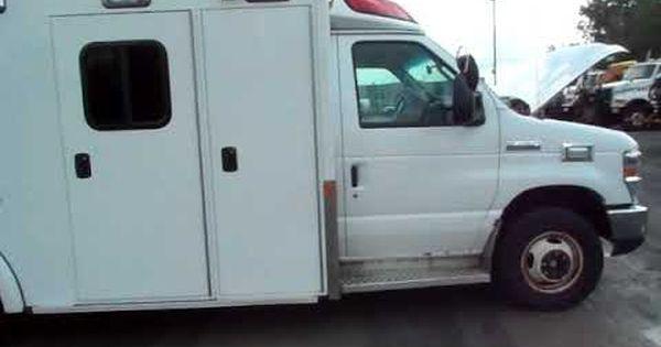 2012 Ford Econoline E450 Ambulance Govdeals Com Ambulance