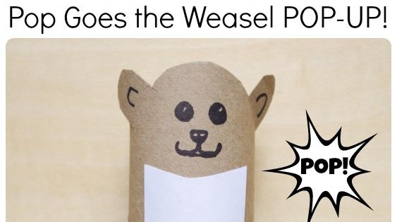 Imagery in pop goes the weasel