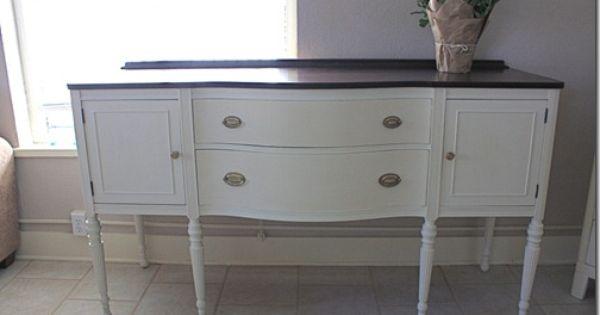 Undistressed Chalk Paint On Kitchen Cabinet