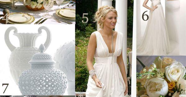 Greek goddess wedding theme