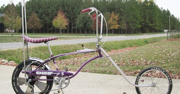 Rare Purple Huffy Rail Slingshot 5 Muscle Bike From The