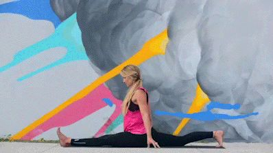 Hanumanasana To Vasisthasana Full Split To Side Plank With Bind Variation Flexibility Dance Amazing Flexibility Gym Girls