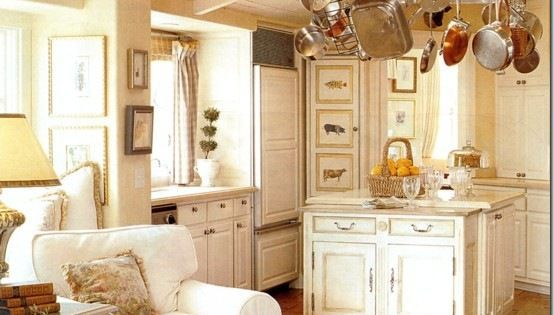 This quaint cottage kitchen lives large with beach cottage for Quaint kitchen designs