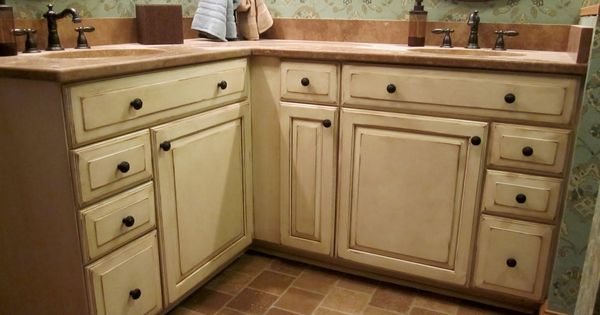 Kraftmaid bathroom vanities glazed glazed kraftmaid bathroom sscott pinterest - Kraftmaid bathroom cabinets catalog ...