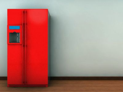 How To Reface An Appliance Painting Appliances Painted Fridge