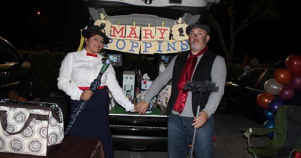 Trunk Or Treat Mary Poppins Trunk Or Treat Pinterest