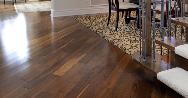 Black walnut classic natural manufactured by muskoka for Baldwin laminate flooring