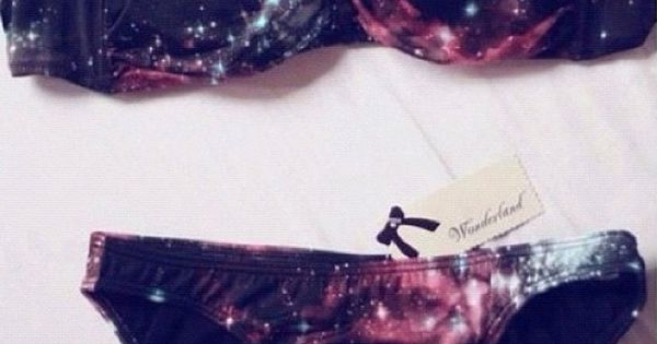 Galaxy Swim Suit @Maisey Cooley