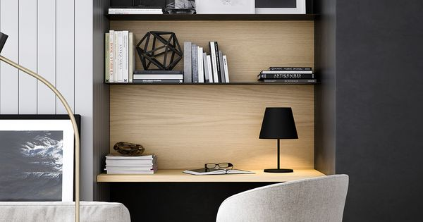 20 id es pour agencer et d corer un bureau pi ces de monnaie meubles et coins. Black Bedroom Furniture Sets. Home Design Ideas