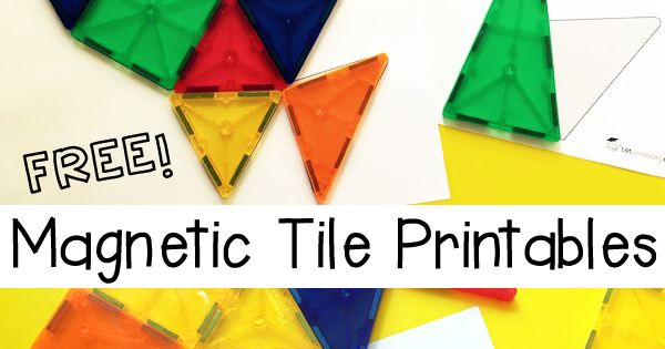 Free Magnetic Tile Printables Pumpkins Problem Solving