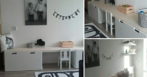 Ideeen Speelhoek Woonkamer : Kind on Pinterest
