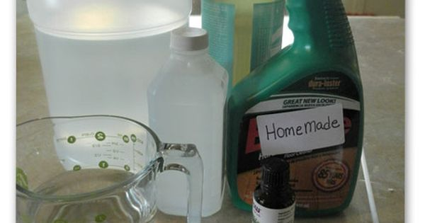 Homemade Floor Cleaner 1 C Water 1 C Vinegar 1 C