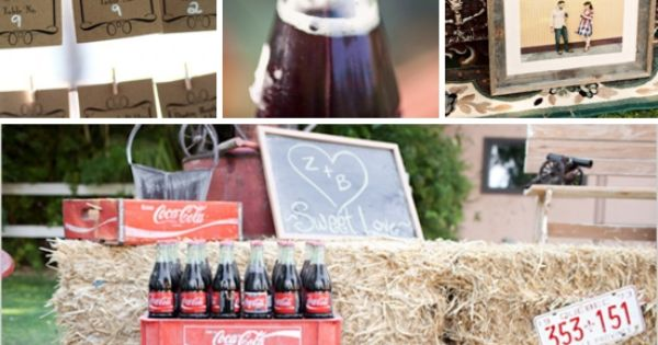 coca colath july wedding inspiration