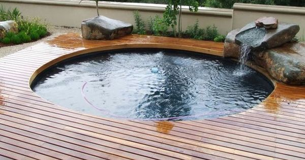 Pools for small spaces backyards in fascinating trend above ground pools for small - Above ground pools for small spaces model ...
