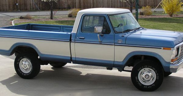 White 1979 Ford F150 4 X 4 Google Search Autos Clasicos Autos Vehiculos