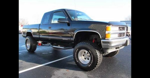 1996 chevrolet k1500 cheyenne lifted truck for sale. Black Bedroom Furniture Sets. Home Design Ideas