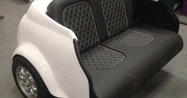 Classic White Mini Cooper Sofa Amazing Car Transformed