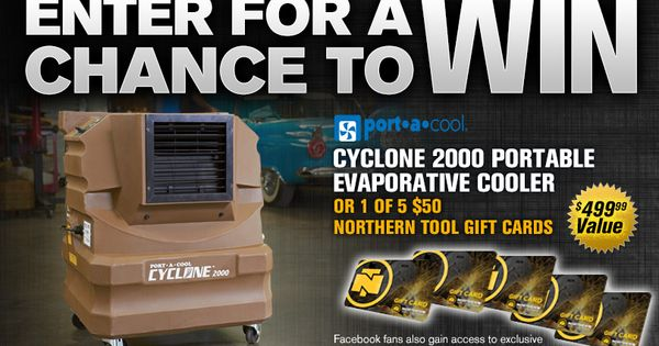 Check out this Port-a-Cool Giveaway from Northern Tool + Equipment ...