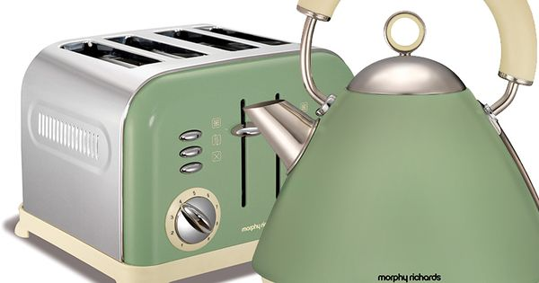 Kettle Toaster And Green On Pinterest