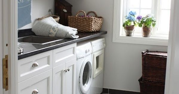 10 Black And White Laundry Room Design Ideas Laundry