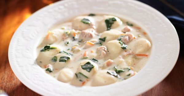 Slow Cooker Chicken Gnocchi Soup Copycat Oh Yeah Another Olive Garden Wow Recipe Www