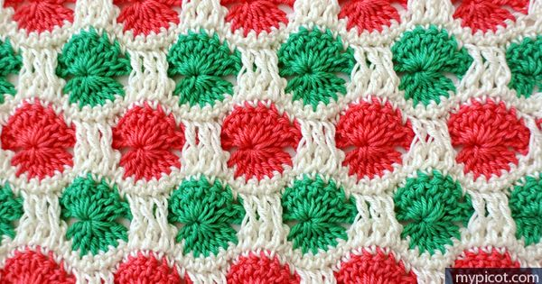 Crochet Patterns Intermediate : patterns Multicolor Circle Pattern #freepattern #crochet #intermediate ...