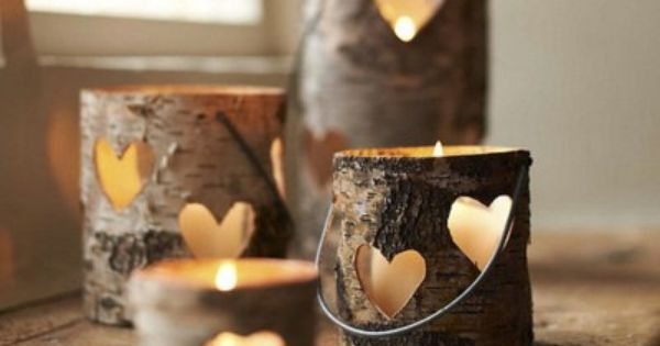 Heart Lantern eclectic candles and candle holders - adorable decorations. @Crystal Randolph